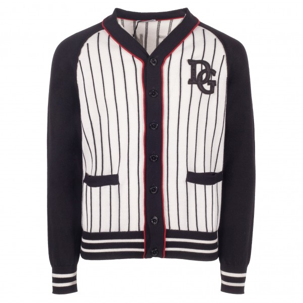 DOLCE&GABBANA Baseball Junior Cardigan