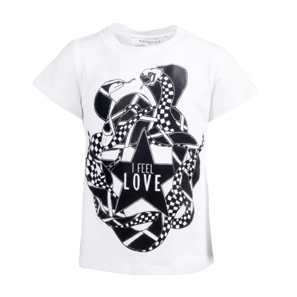 GIVENCHY Snakes&Love Print Tee
