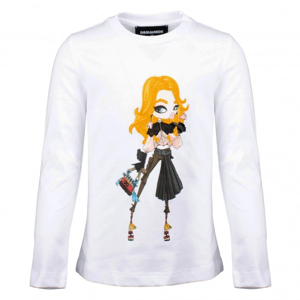 DSQUARED2 Girls Longsleeve Shirt