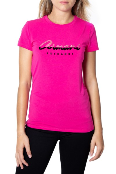 ARMANI EXCHANGE Logo Signature Tee Damen T-Shirt