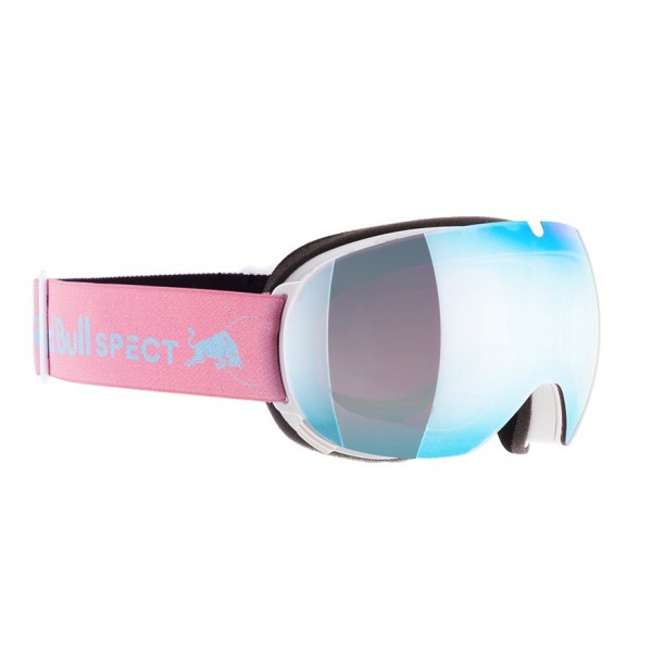 RED BULL SPECT Magnetron_Ace Skibrille Goggles White / Ice Blue Snow Red w Blue Mirror MAGNETRON_ACE-008
