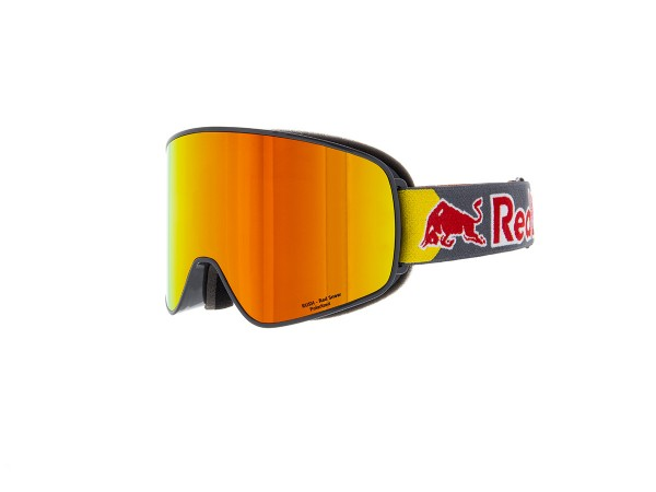 RED BULL SPECT Rush Skibrille Goggles Grey / Red snow brown w Red mirror POLARIZED-Copy