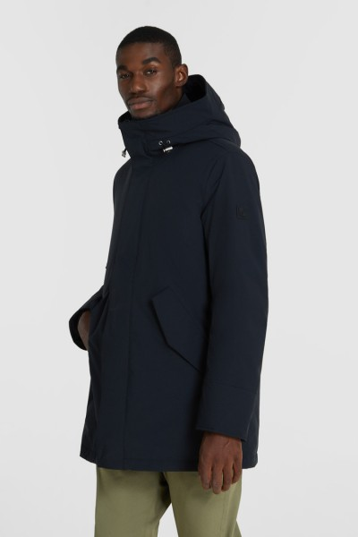 WOOLRICH Mountain Stretch Parka Black