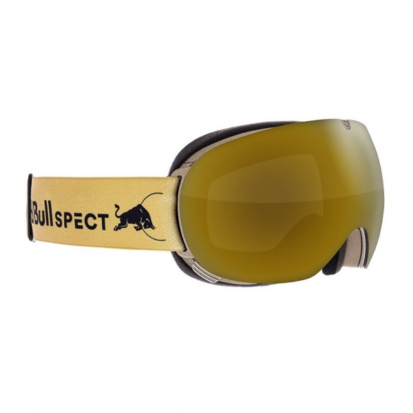 RED BULL SPECT Magnetron_Ace Skibrille Goggles Gold / Gold Snow Orange w Gold Mirror MAGNETRON_ACE-010