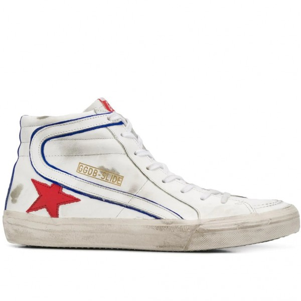 GOLDEN GOOSE Vintage Leather High Top Sneaker
