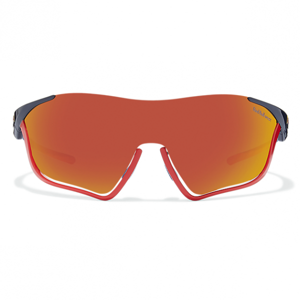 RED BULL SPECT Flow 002 Black / Smoke Red Mirror