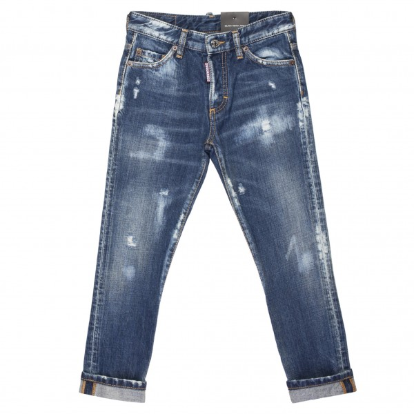 DSQUARED2 Icon Glam Head Jean Kids