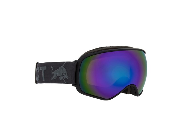 RED BULL SPECT AlleyOop Skibrille Goggles Böack / Green Snow Brown w Green mirror