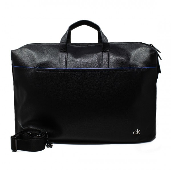 CALVIN KLEIN Weekender Leather Logo Bag Herren Tasche