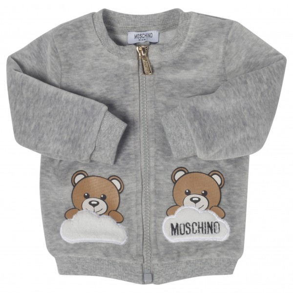 MOSCHINO Baby Teddy Sweater Jacket
