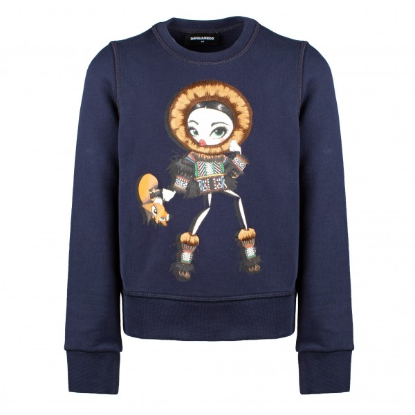 DSQUARED2 Girls Mannequin Sweater