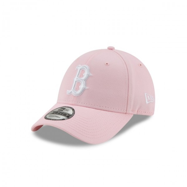 NEW ERA League Essential 9Forty Boston BOSRED Pink One Size