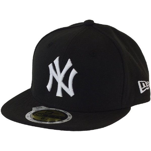 NEWERA K5950 MLB League Basic NEYYAN BLA/WHI
