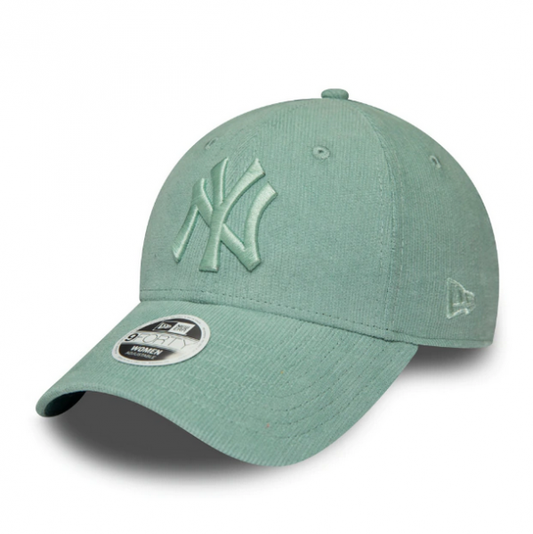 NEW ERA Yankees Women Pastel Cord 9Forty One Size Mint
