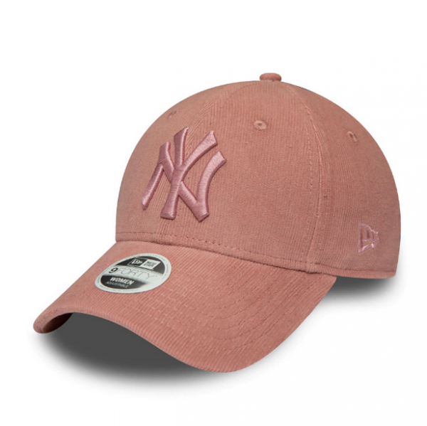 NEW ERA Yankees Women Pastel Cord 9Forty One Size Rosa