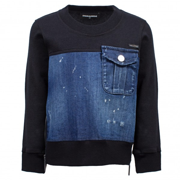 DSQUARED2 Jeans Pocket Sweater Kids
