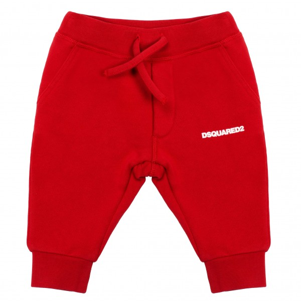 DSQUARED2 Little Kids Jogging Pants Red