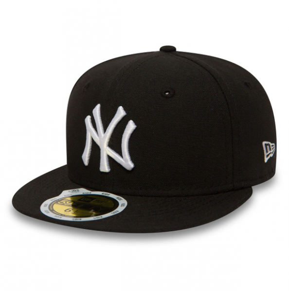 NEW ERA Kids MLB League Basic 5950 Yankees Schwarz