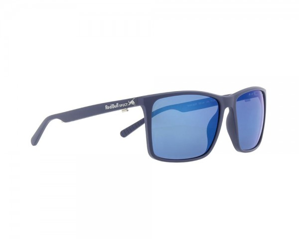 RED BULL SPECT Bow Sonnenbrille Matte Dark Grey / Blue BOW-003