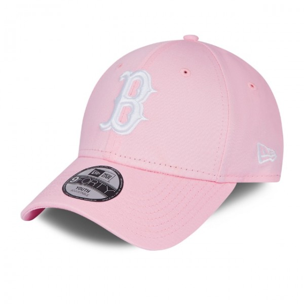 NEW ERA Youth League Essential 9Forty Boston Pink