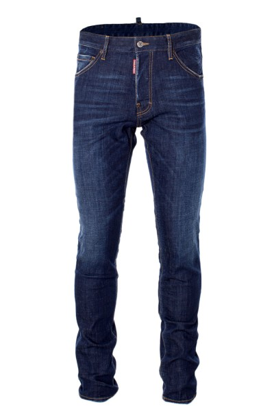 DSQUARED2 Regular Slimfit Herren Denim Jeans Darkblue