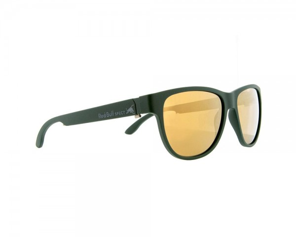 RED BULL SPECT Wing3 Sonnenbrille Olive / Gold Iridium WING3-007