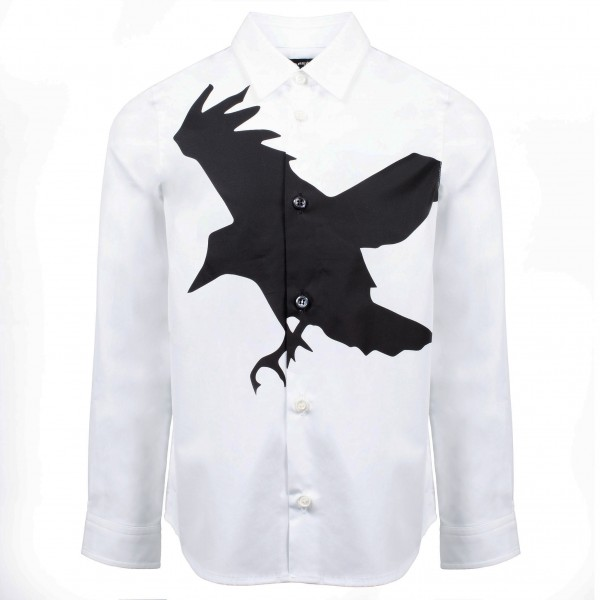 DSQUARED2 The Crow Boys Button Shirt