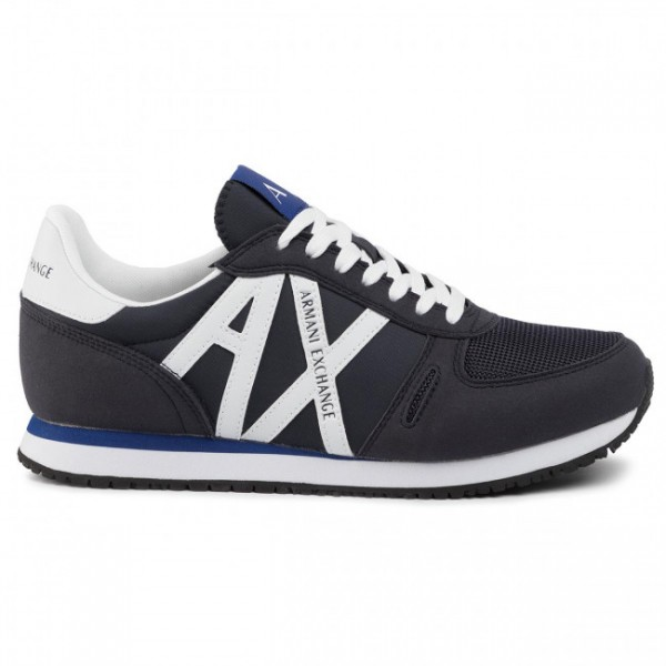 ARMANI EXCHANGE Herren Sneakers mit Logo Navy