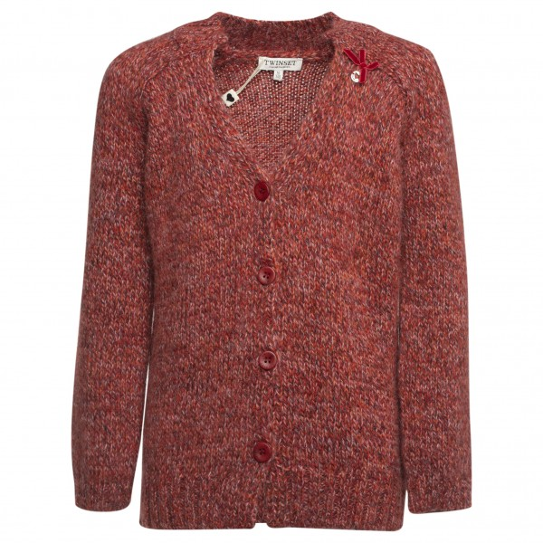 TWINSET Girls Knitted Cardigan