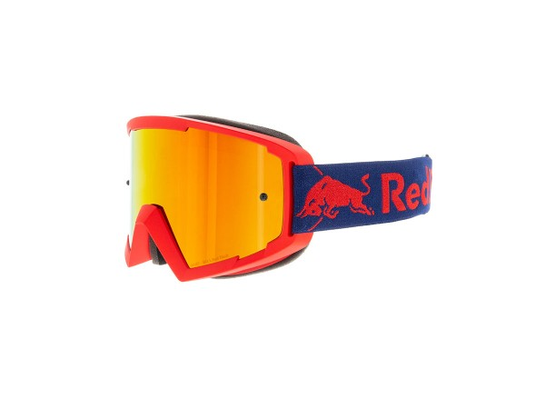 RED BULL SPECT Whip Skibrille Goggles Red / Red Flash w Red mirror