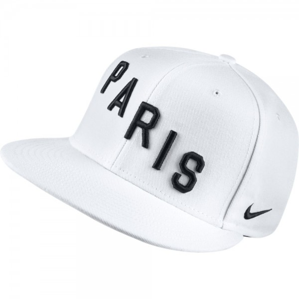 NIKE True High Crown Cap Paris weiß