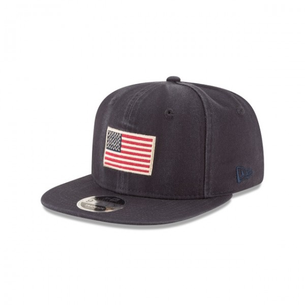 NEW ERA Season USA Flag Patch 950 Navy S/M
