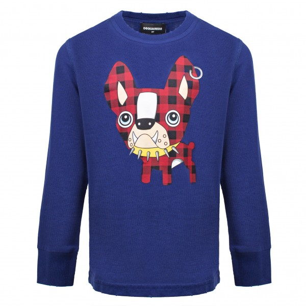 DSQUARED2 Ciro Comic Print Sweater Kids