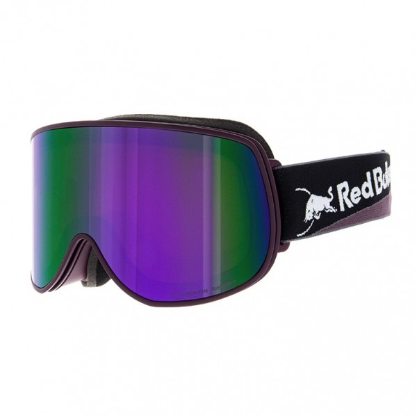RED BULL SPECT Magnetron_Eon Skibrille Goggles Burgundy / Purple SNow Brown w Violet Mirror MAGNETRON_EON-013