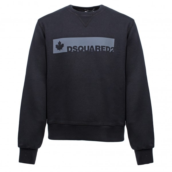 DSQUARED2 Square Logo Print Sweater Kids